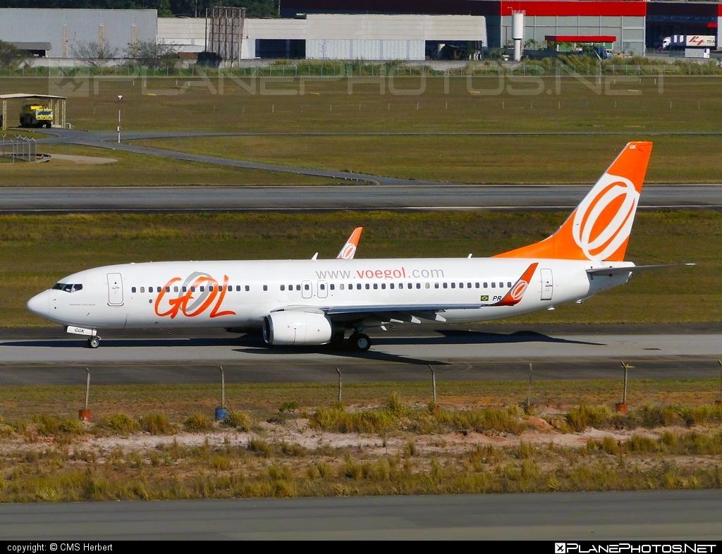 Boeing 737-800 - PR-GGK operated by GOL Linhas Aéreas Inteligentes #b737 #b737nextgen #b737ng #boeing #boeing737