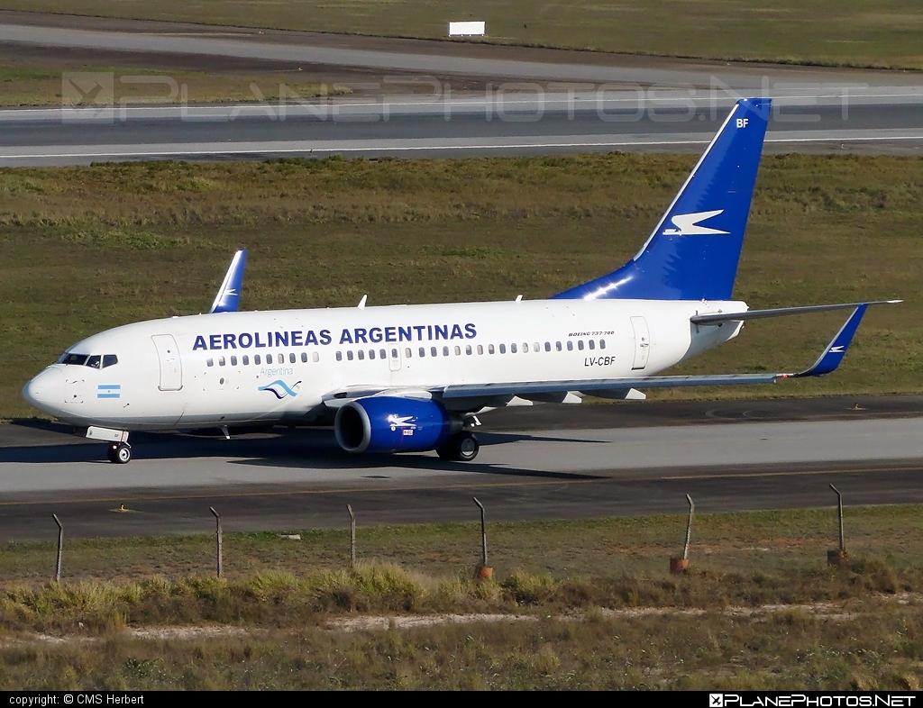 Boeing 737-700 - LV-CBF operated by Aerolíneas Argentinas #b737 #b737nextgen #b737ng #boeing #boeing737