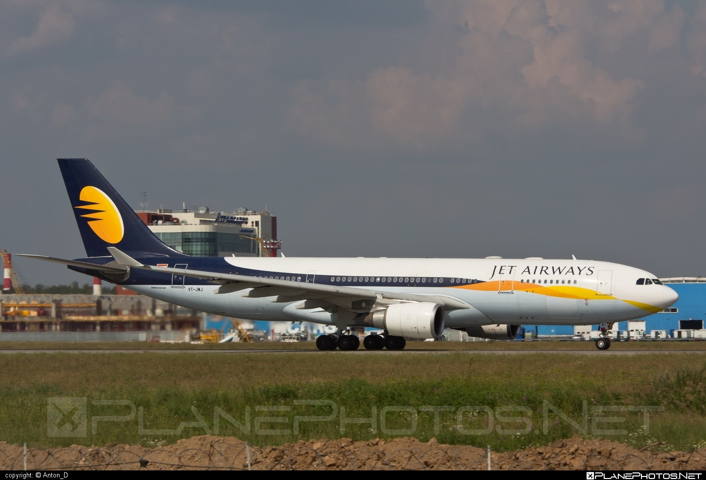 Airbus A330-202 - VT-JWJ operated by Jet Airways #a330 #a330family #airbus #airbus330