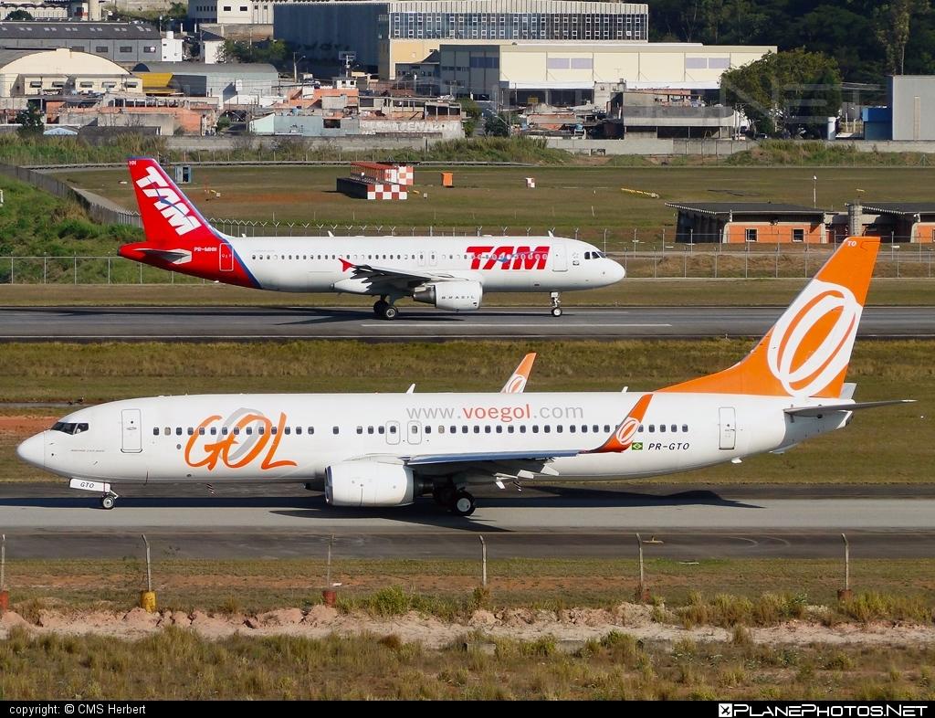 Boeing 737-800 - PR-GTO operated by GOL Linhas Aéreas Inteligentes #b737 #b737nextgen #b737ng #boeing #boeing737