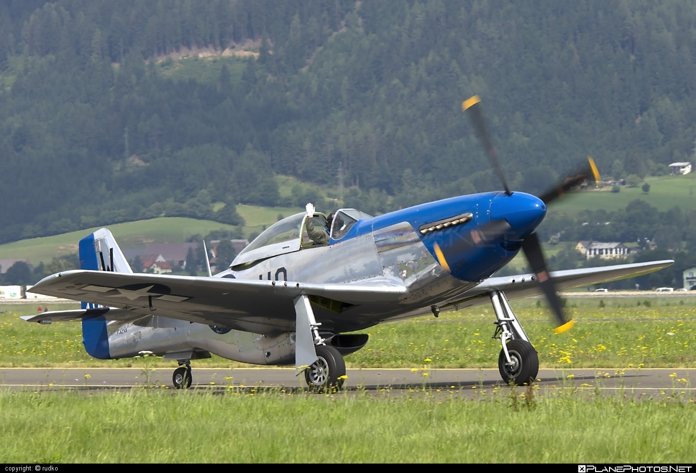 North American P-51D Mustang - F-AZXS operated by Private operator #northamerican
