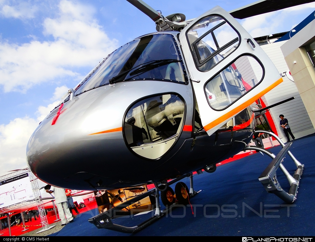 Helibras AS 350 B3e Esquilo - PR-GZA operated by Private operator #helibras