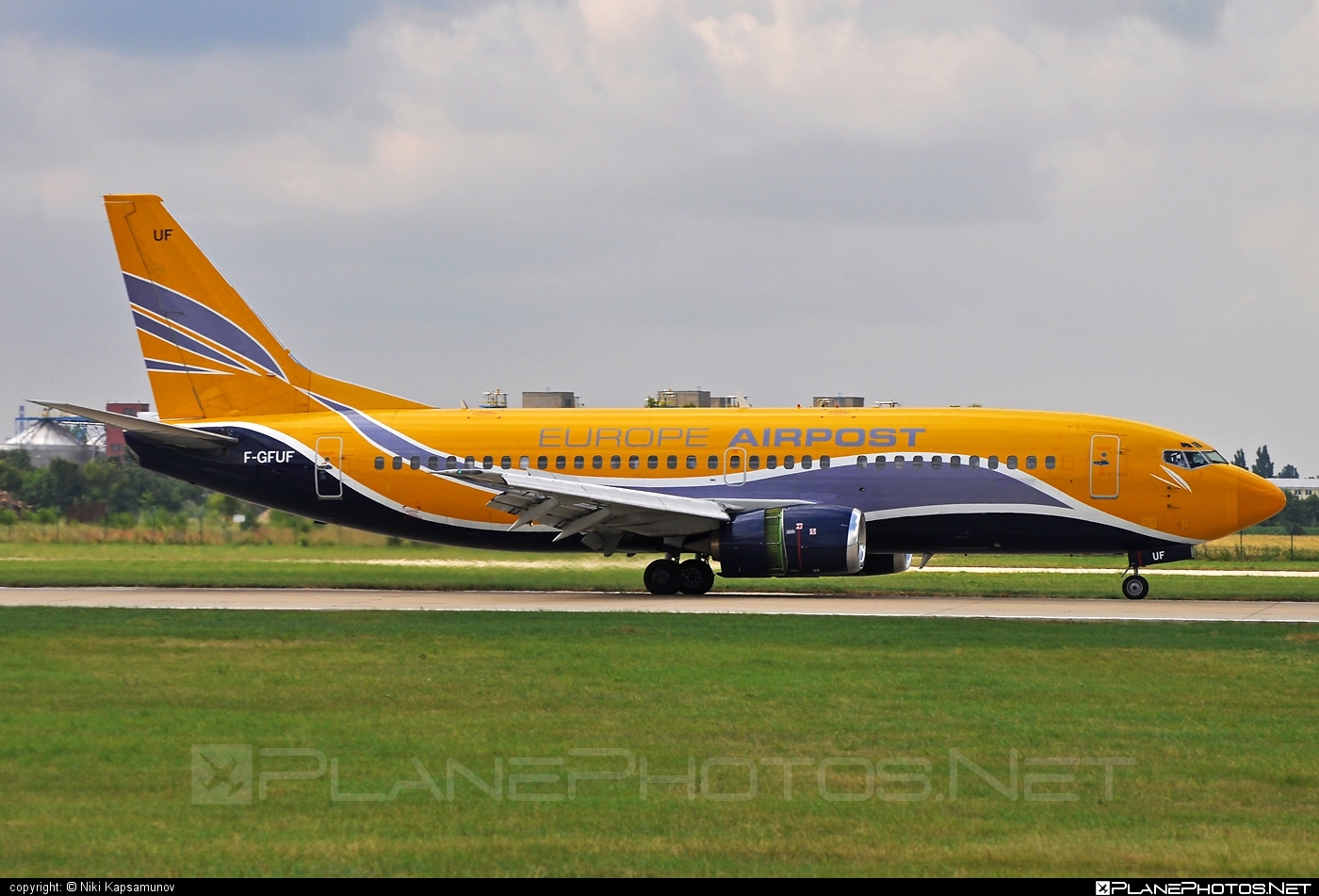 Boeing 737-300QC - F-GFUF operated by Europe Airpost #b737 #b737qc #boeing #boeing737
