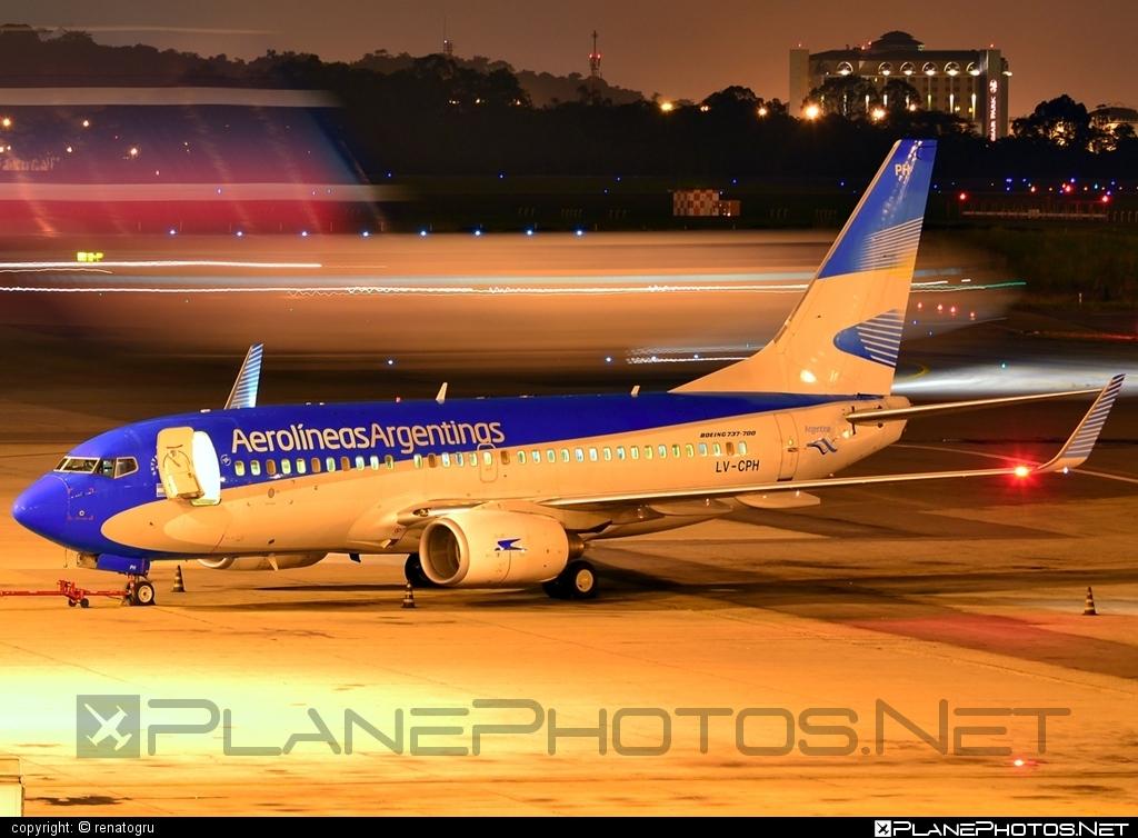 Boeing 737-700 - LV-CPH operated by Aerolíneas Argentinas #b737 #b737nextgen #b737ng #boeing #boeing737