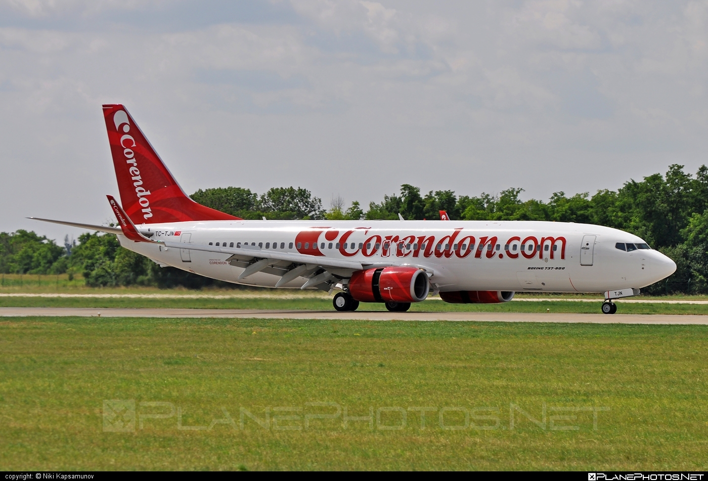 Boeing 737-800 - TC-TJN operated by Corendon Airlines #b737 #b737nextgen #b737ng #boeing #boeing737