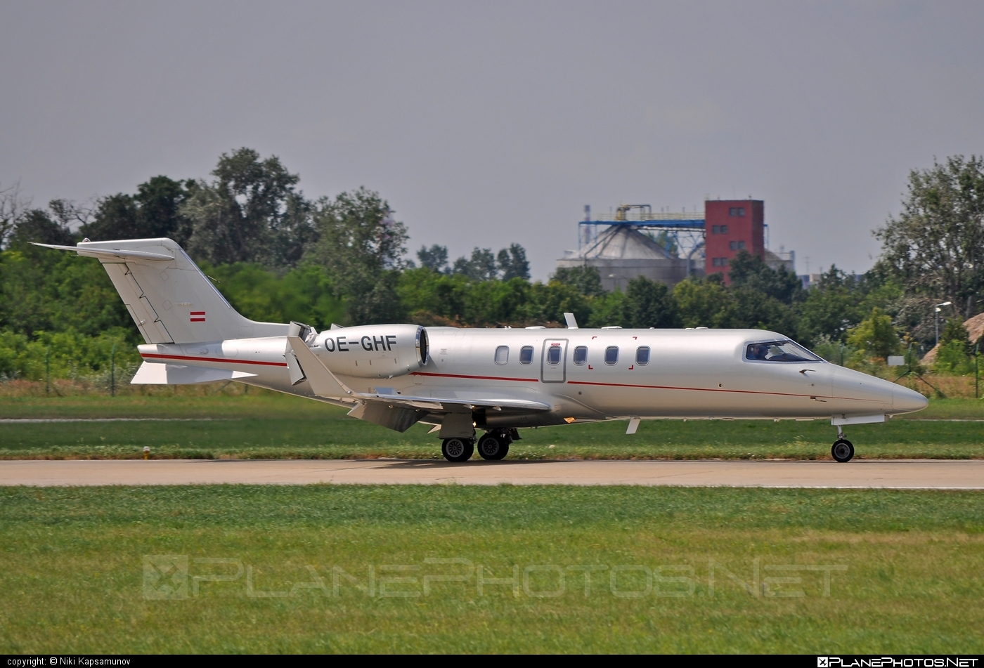 Bombardier Learjet 45 - OE-GHF operated by Lyoness Aviation #bombardier #learjet #learjet45