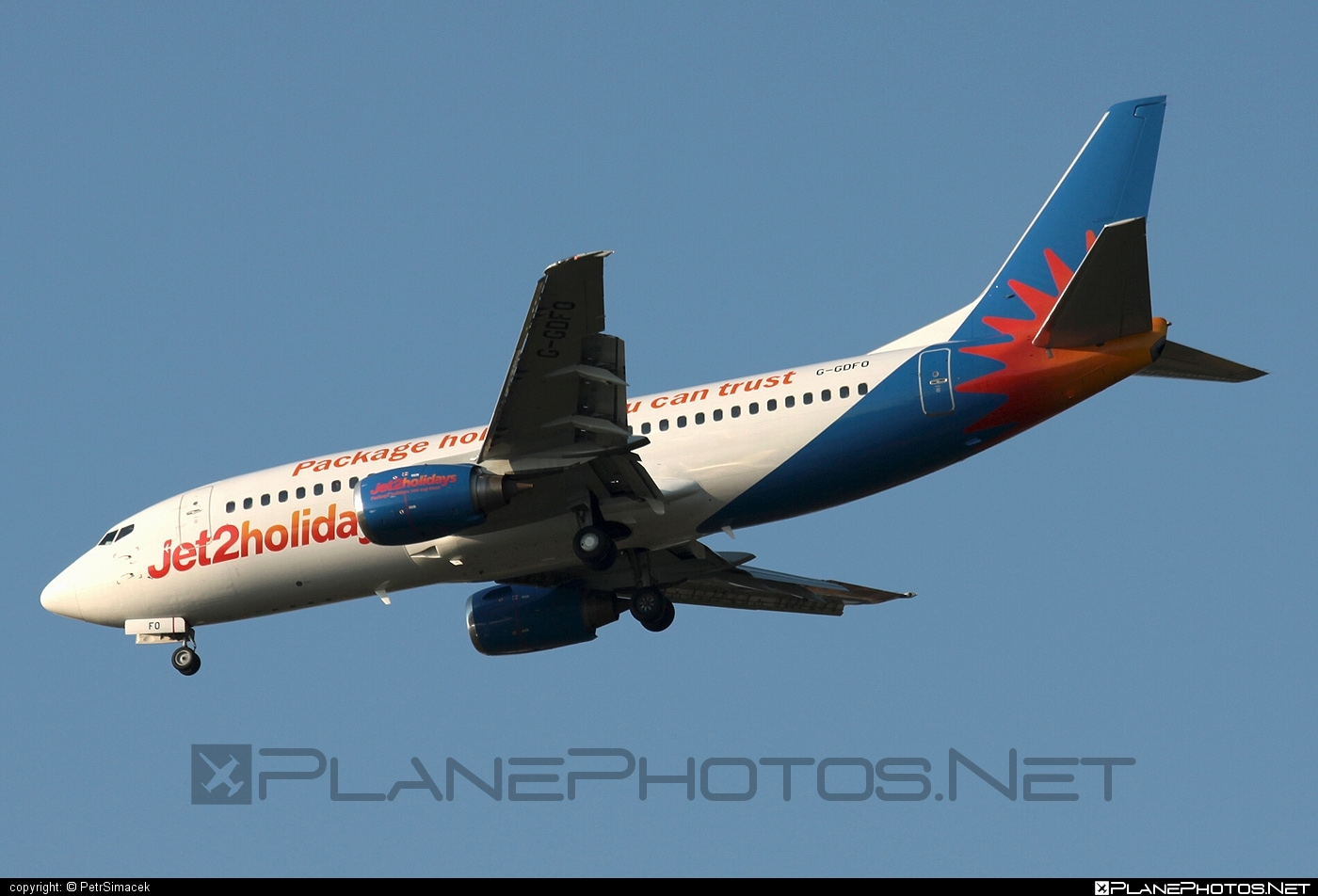 Boeing 737-300 - G-GDFO operated by Jet2 #b737 #boeing #boeing737 #jet2