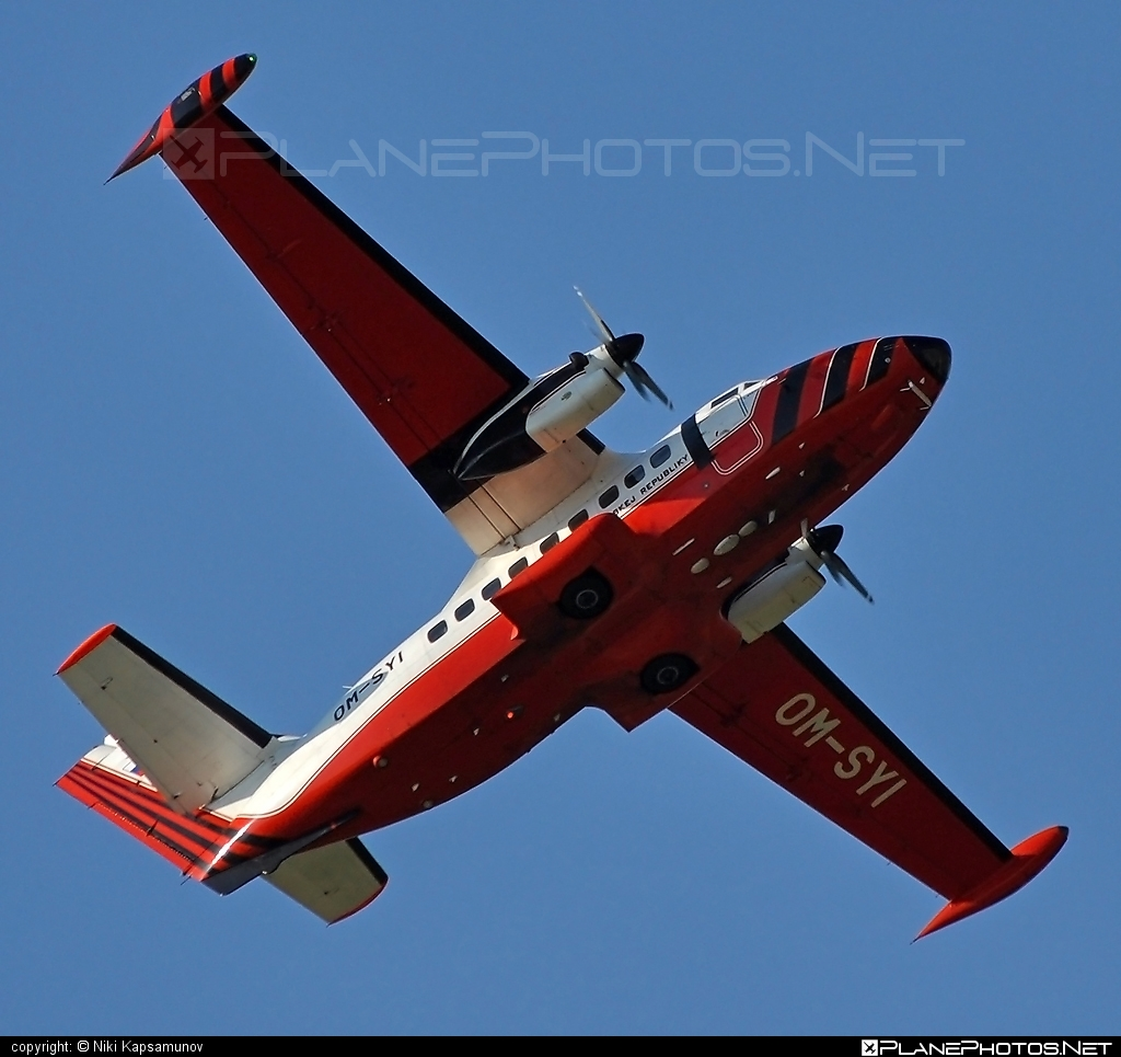 Let L-410UVP-E Turbolet - OM-SYI operated by Letecký úrad SR (Civil Aviation Authority of the Slovak Republic) #L410 #L410Turbolet #L410uvpe #L410uvpeTurbolet #let #turbolet