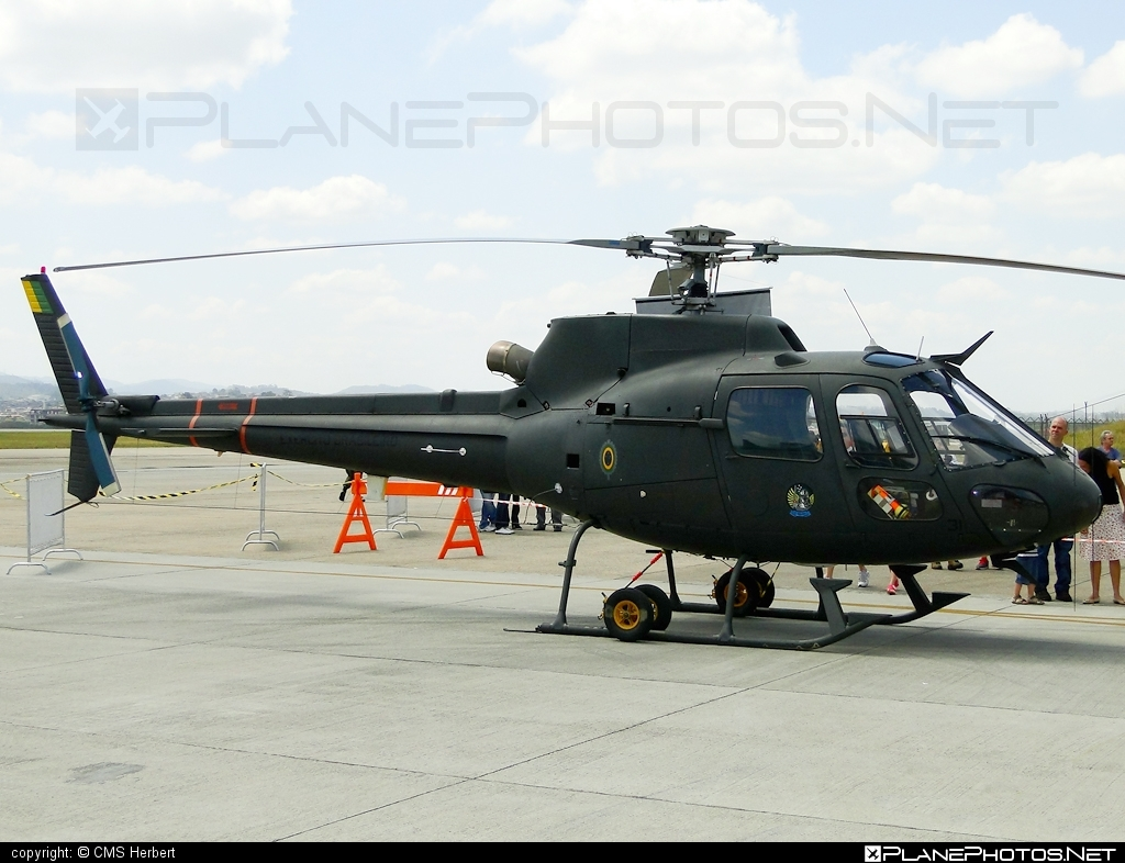 Helibras HA-1 Esquilo - EB1031 operated by Exército Brasileiro (Brazilian Army) #helibras