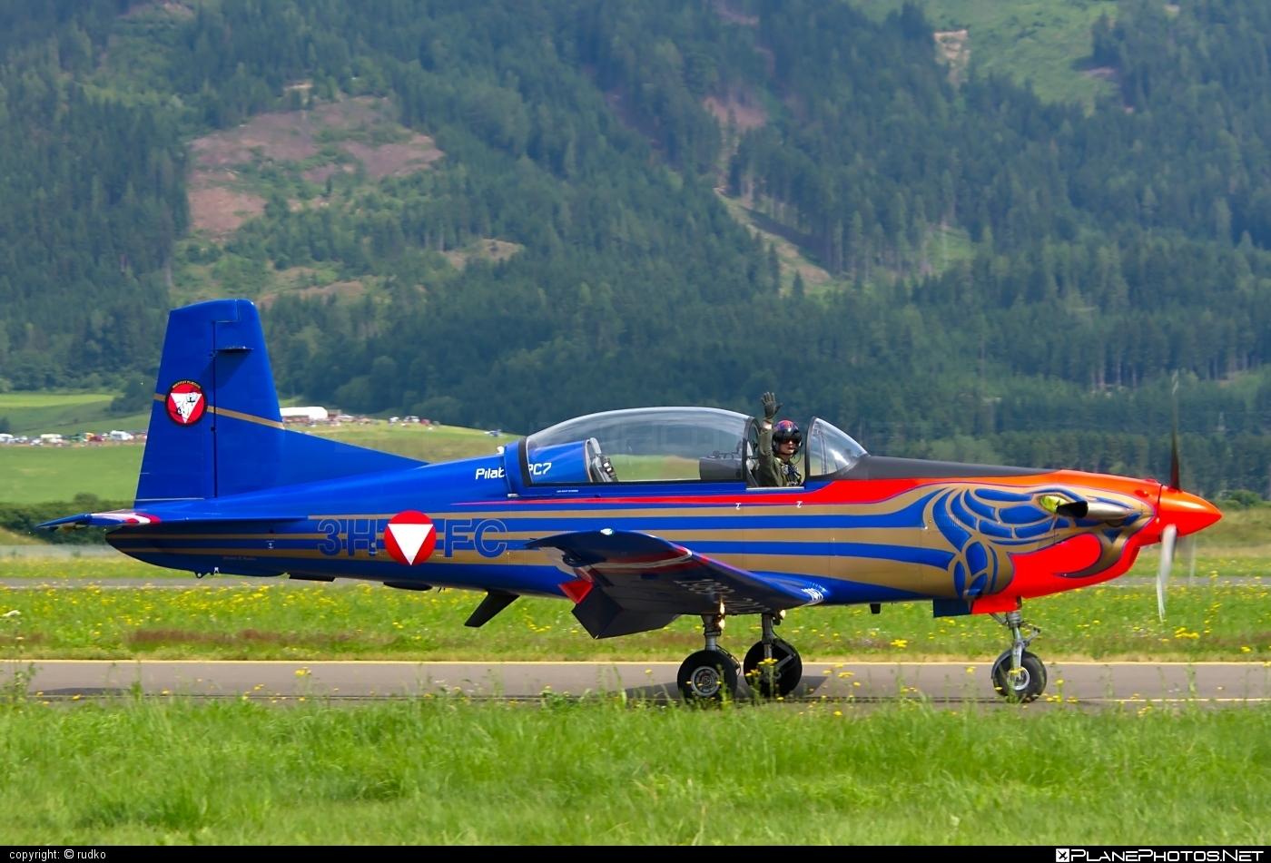 Pilatus PC-7 - 3H-FC operated by Österreichische Luftstreitkräfte (Austrian Air Force) #austrianairforce #pc7 #pilatus #pilatuspc7