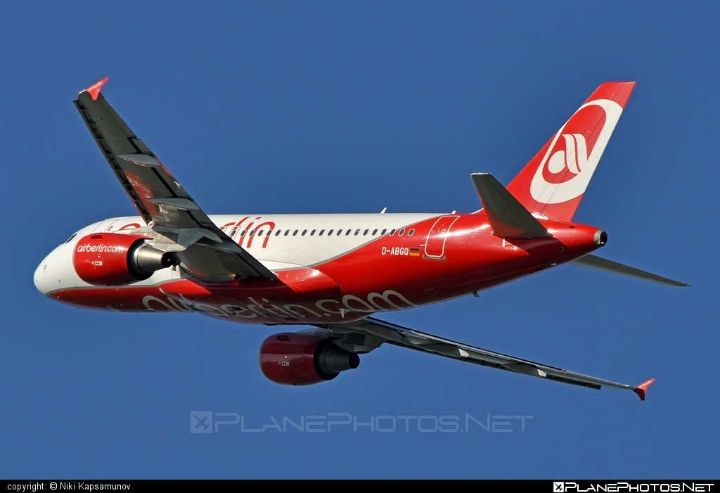 Airbus A319-112 - D-ABGQ operated by Air Berlin #a319 #a320family #airberlin #airbus #airbus319