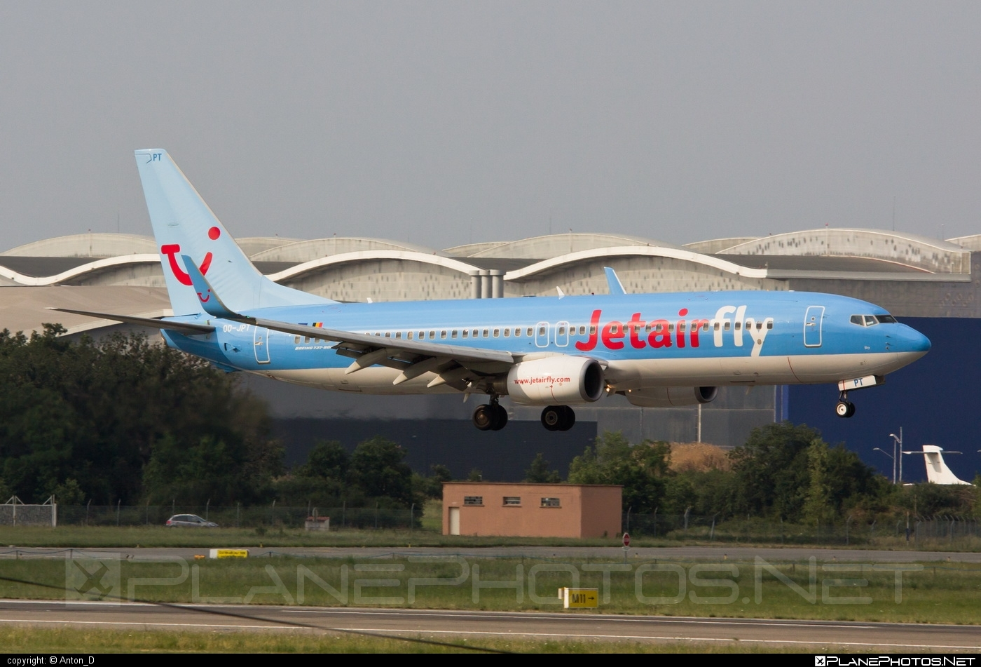 Boeing 737-800 - OO-JPT operated by Jetairfly #b737 #b737nextgen #b737ng #boeing #boeing737 #jetairfly