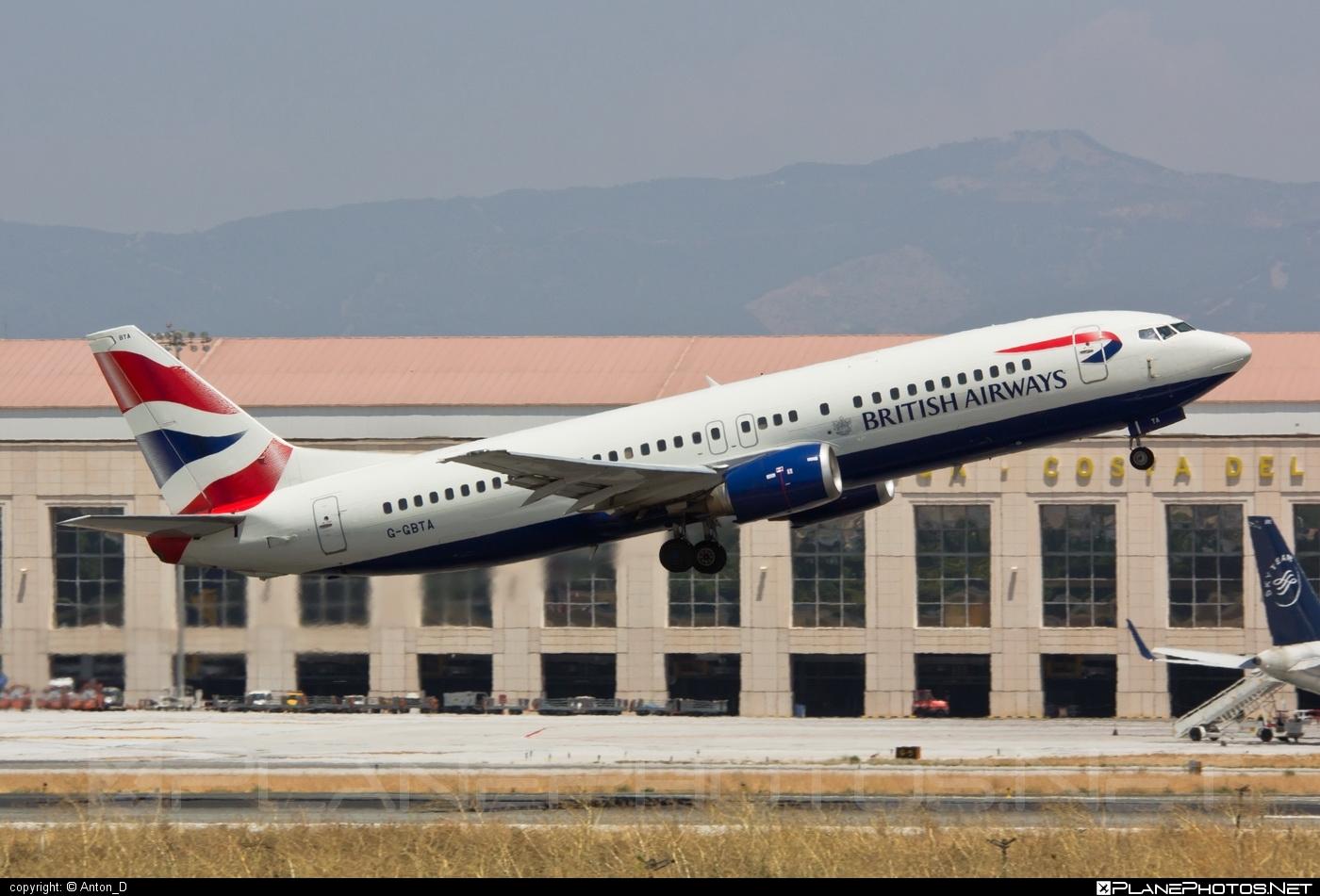 Boeing 737-400 - G-GBTA operated by British Airways #b737 #boeing #boeing737 #britishairways