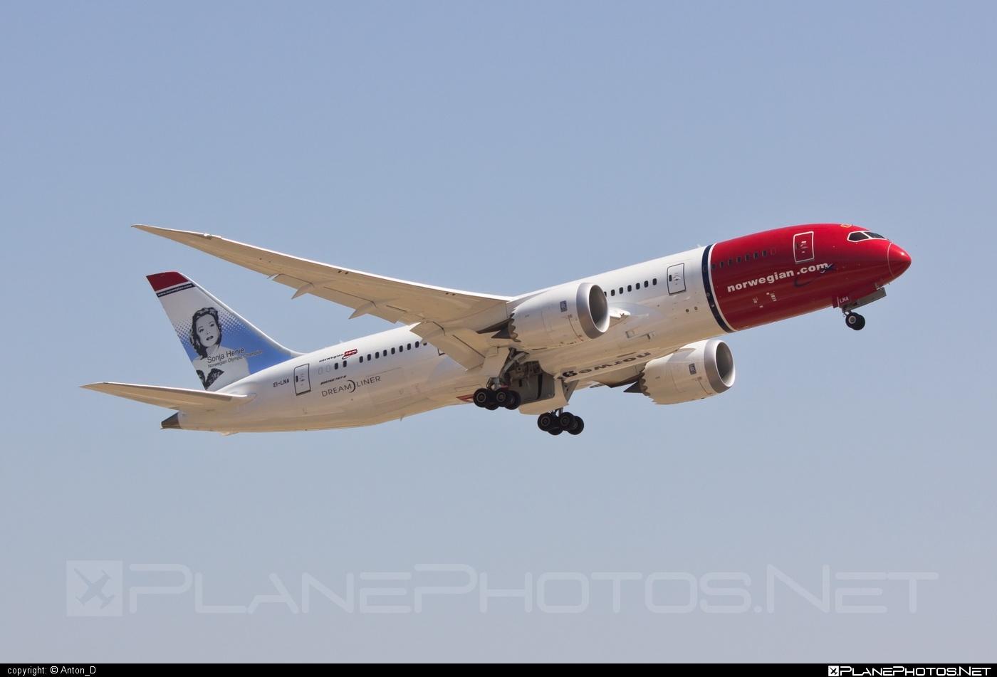 Boeing 787-8 Dreamliner - EI-LNA operated by Norwegian Air Shuttle #b787 #boeing #boeing787 #dreamliner #norwegian #norwegianair #norwegianairshuttle