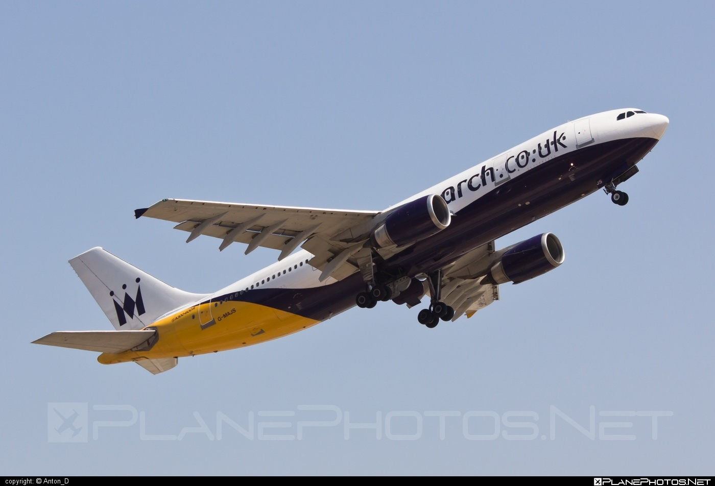 Airbus A300B4-605R - G-MAJS operated by Monarch Airlines #a300 #airbus