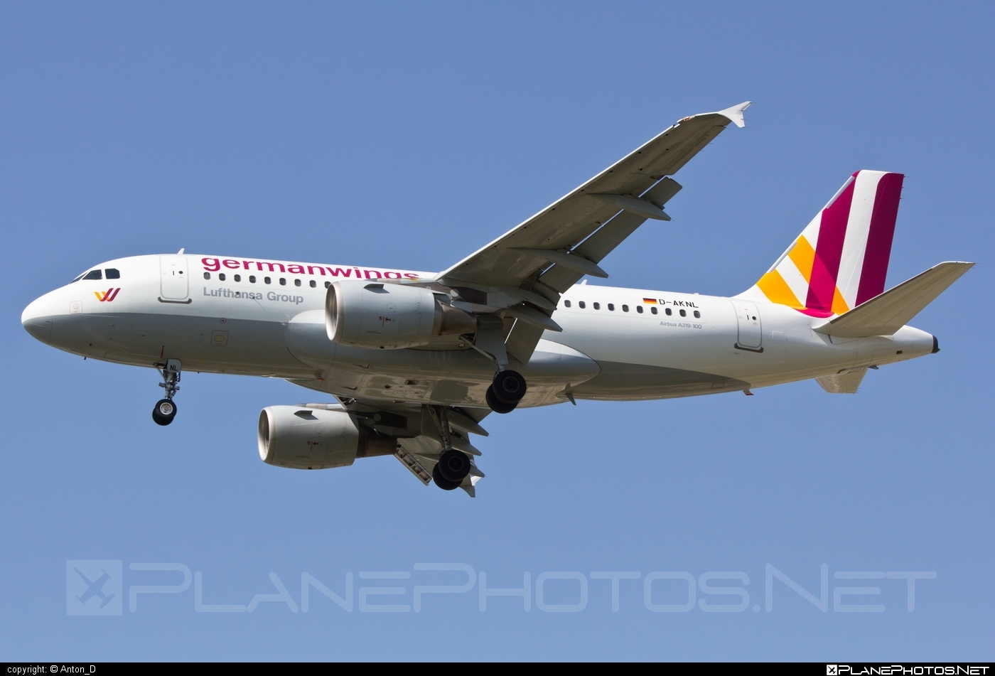 Airbus A319-112 - D-AKNL operated by Germanwings #a319 #a320family #airbus #airbus319