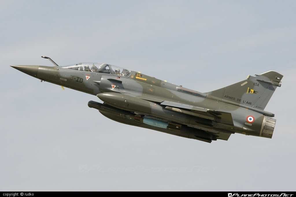 Dassault Mirage 2000D - 654 operated by Armée de l´Air (French Air Force) #armeedelair #dassault #frenchairforce