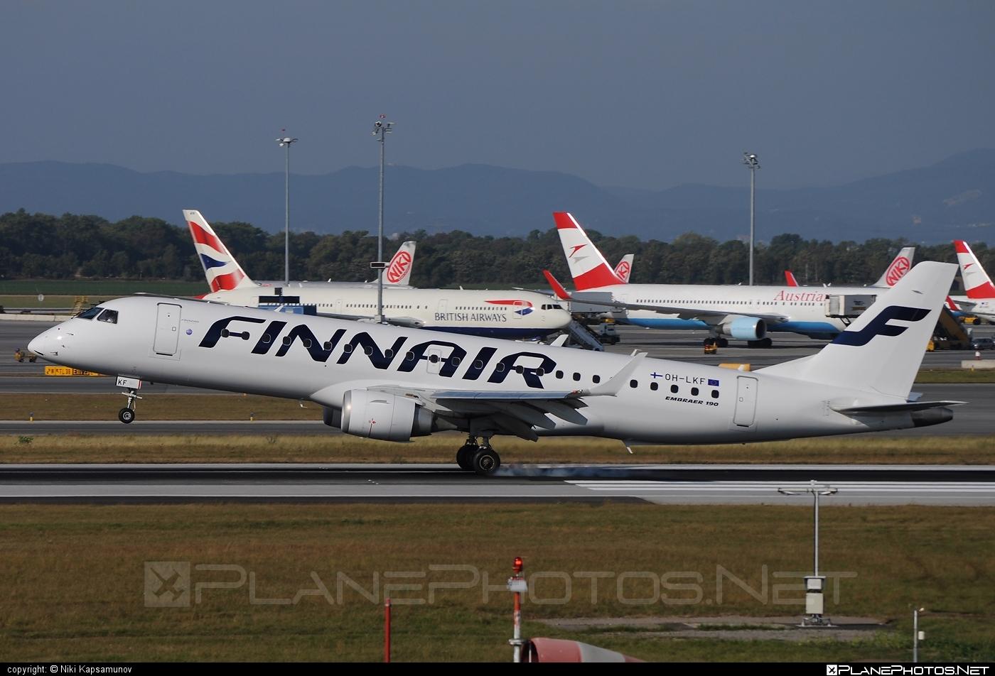 Embraer E190LR (ERJ-190-100LR) - OH-LKF operated by Finnair #e190 #e190100 #e190100lr #e190lr #embraer #embraer190 #embraer190100lr #embraer190lr #finnair