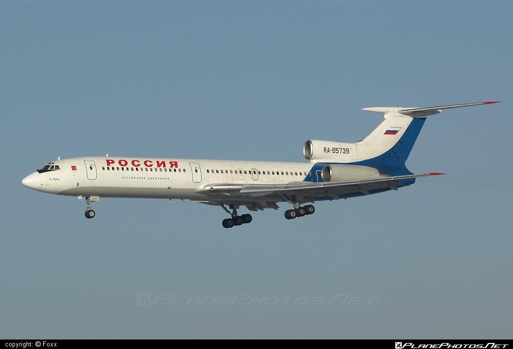 Tupolev Tu-154M - RA-85739 operated by Rossiya Airlines #tu154 #tu154m #tupolev