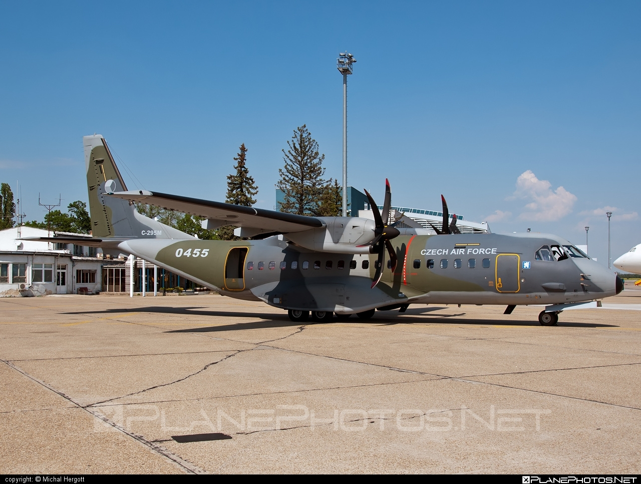 CASA 295M - 0455 operated by Vzdušné síly AČR (Czech Air Force) #casa #czechairforce #vzdusnesilyacr