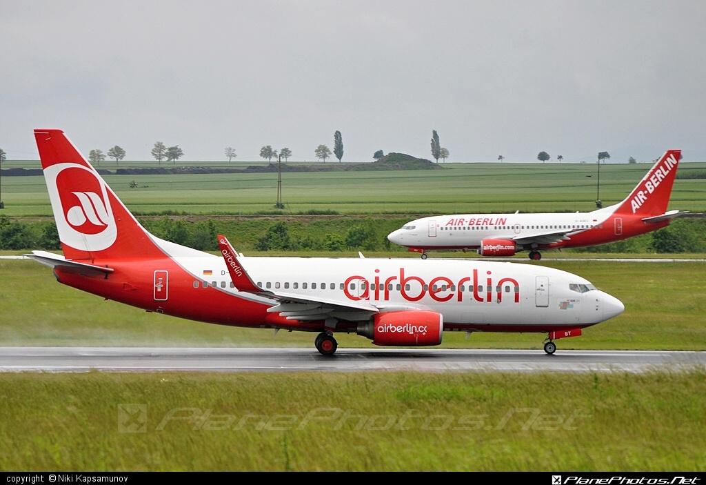 Boeing 737-700 - D-ABBT operated by Air Berlin #airberlin #b737 #b737nextgen #b737ng #boeing #boeing737