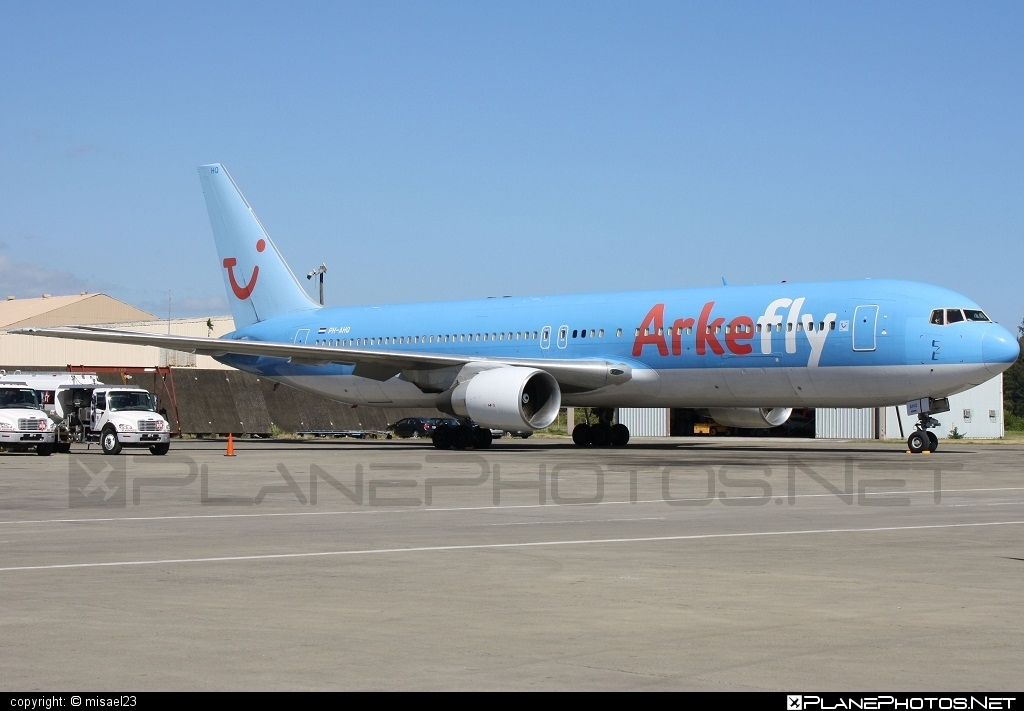 Boeing 767-300ER - PH-AHQ operated by ArkeFly #b767 #b767er #boeing #boeing767