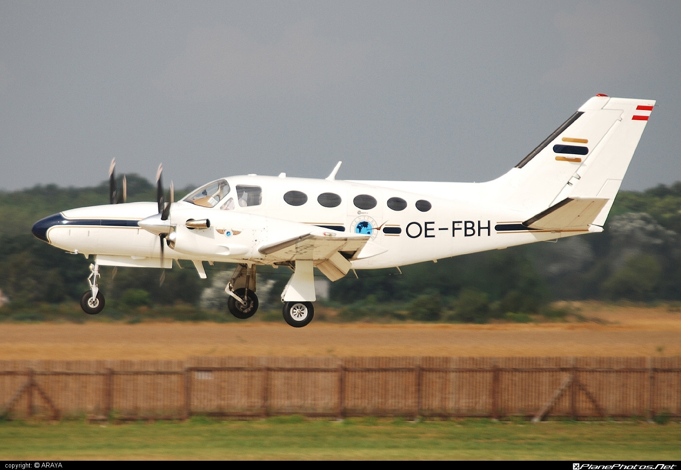 Cessna 425 Conquest I - OE-FBH operated by Private operator #cessna