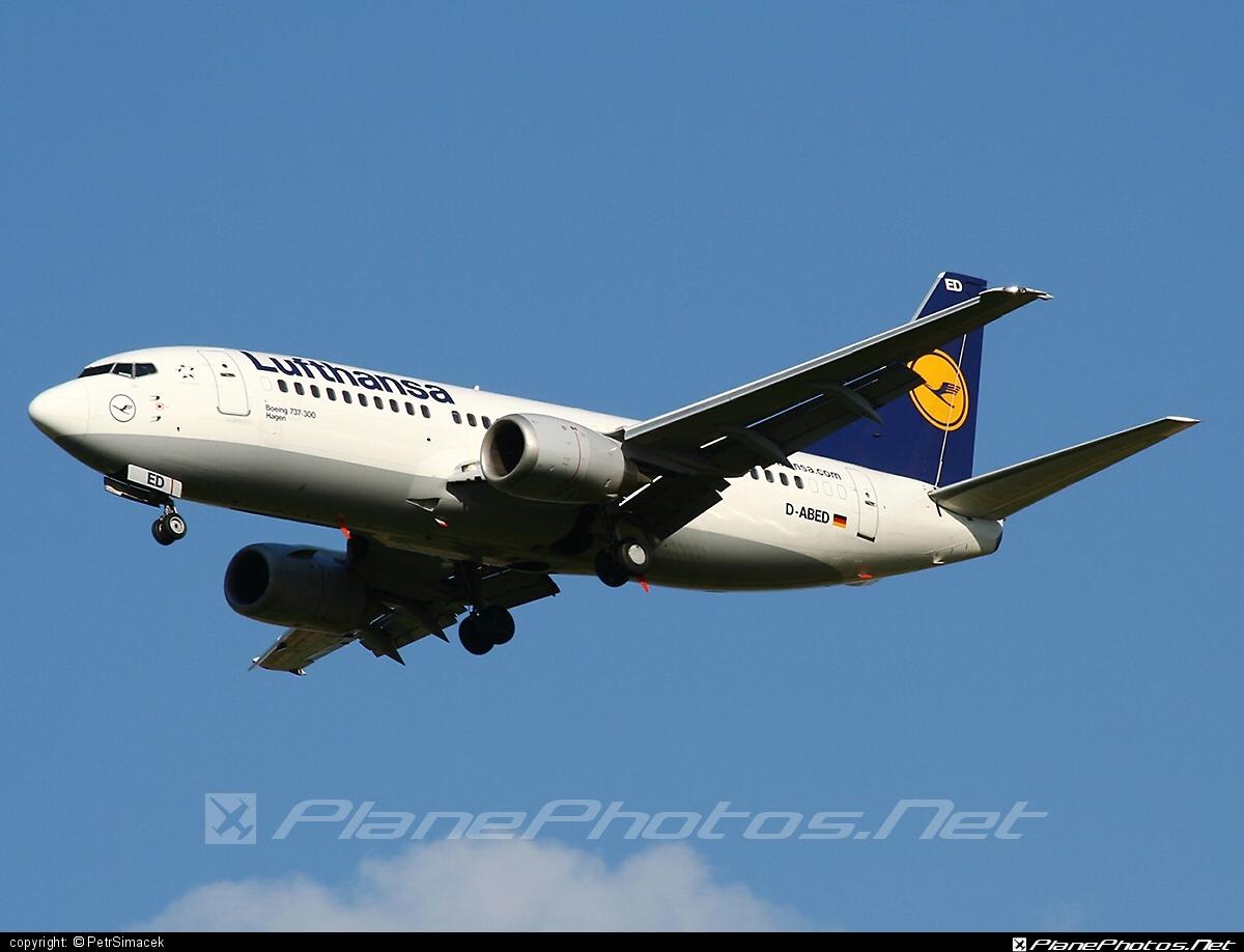 Boeing 737-300 - D-ABED operated by Lufthansa #b737 #boeing #boeing737 #lufthansa