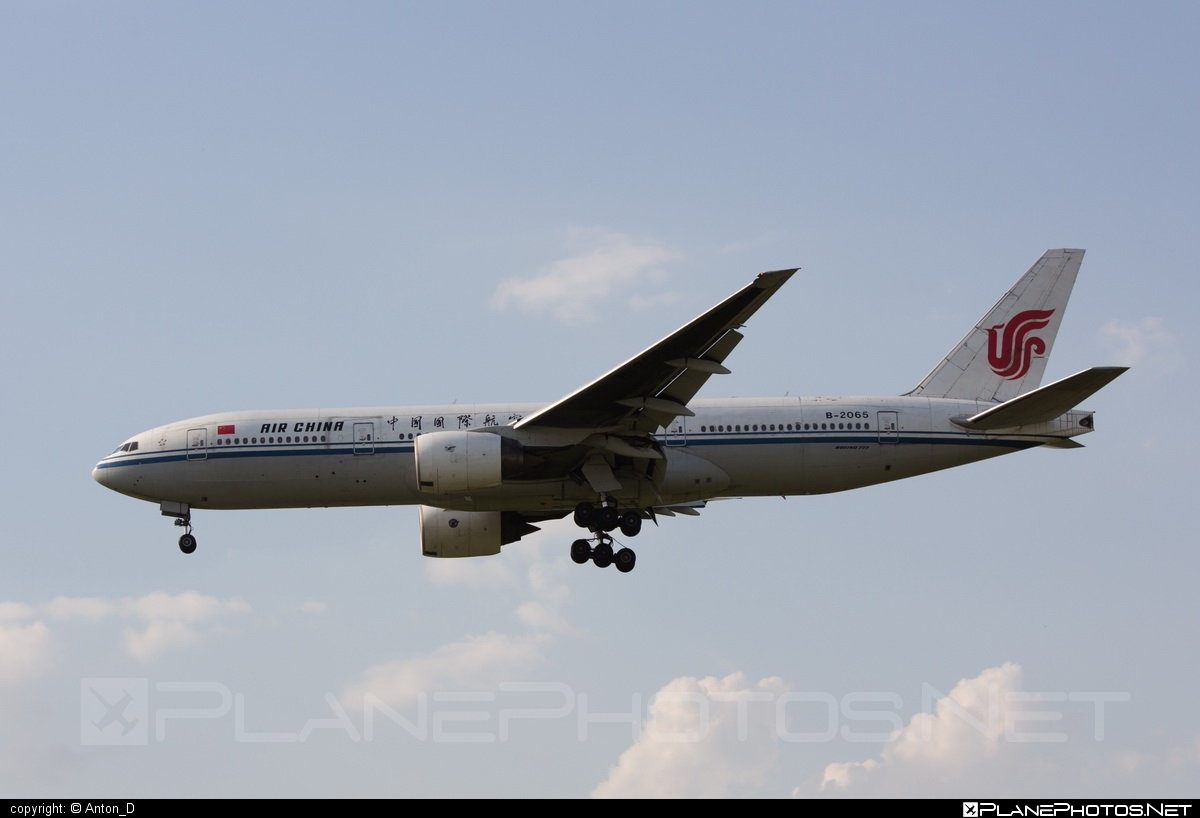 Boeing 777-200 - B-2065 operated by Air China #airchina #b777 #boeing #boeing777 #tripleseven