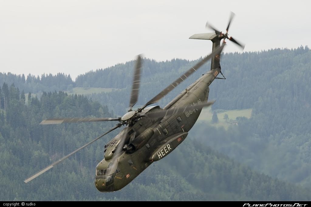 Sikorsky CH-53G Sea Stallion - 84+41 operated by Deutsches Heer (German Army) #sikorsky