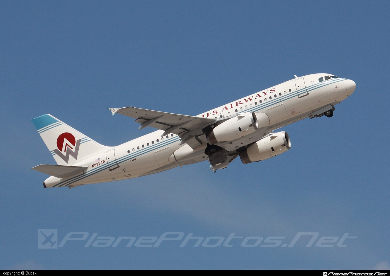 Airbus A319-132 - N828AW operated by US Airways #a319 #a320family #airbus #airbus319
