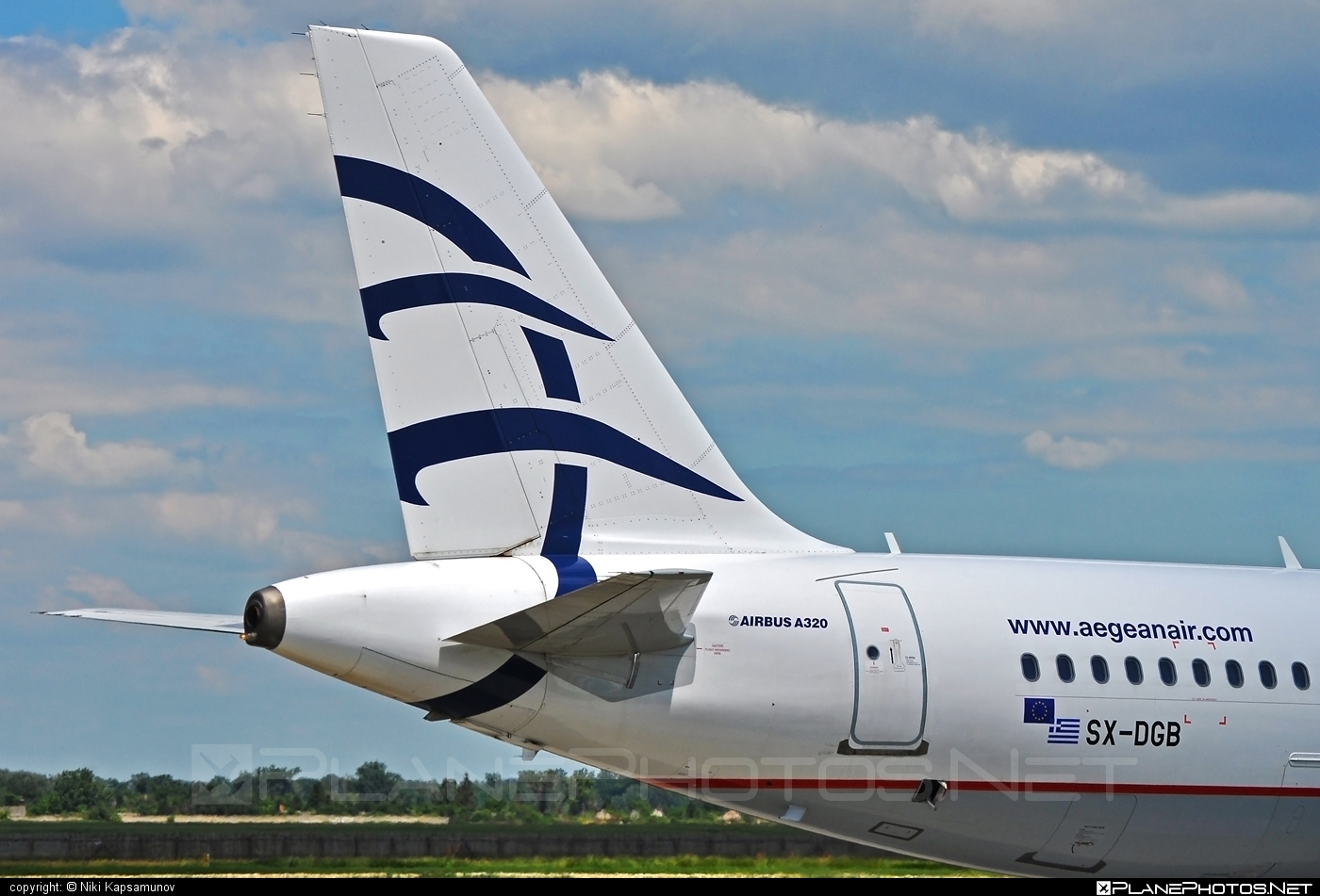 Airbus A320-232 - SX-DGB operated by Aegean Airlines #a320 #a320family #airbus #airbus320