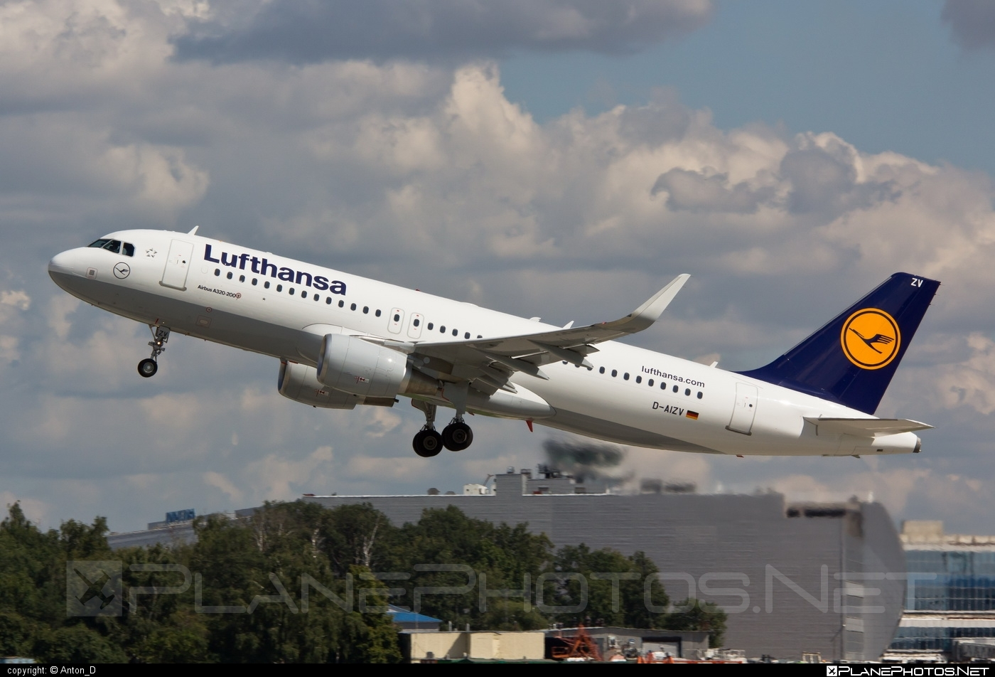 Airbus A320-214 - D-AIZV operated by Lufthansa #a320 #a320family #airbus #airbus320 #lufthansa