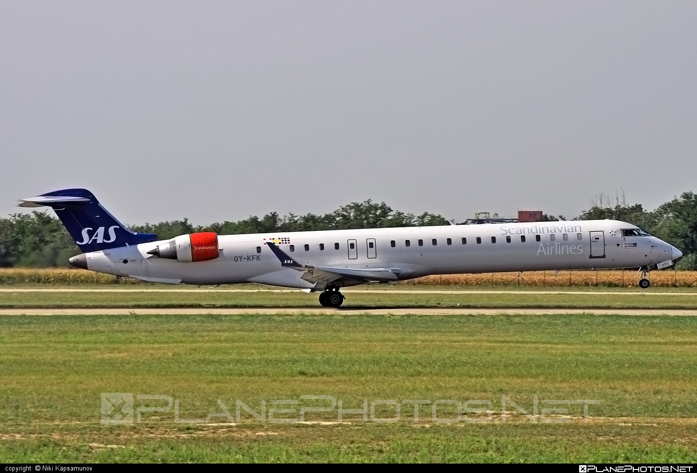 Bombardier CRJ900 - OY-KFK operated by Scandinavian Airlines (SAS) #bombardier #crj900 #sas #sasairlines #scandinavianairlines