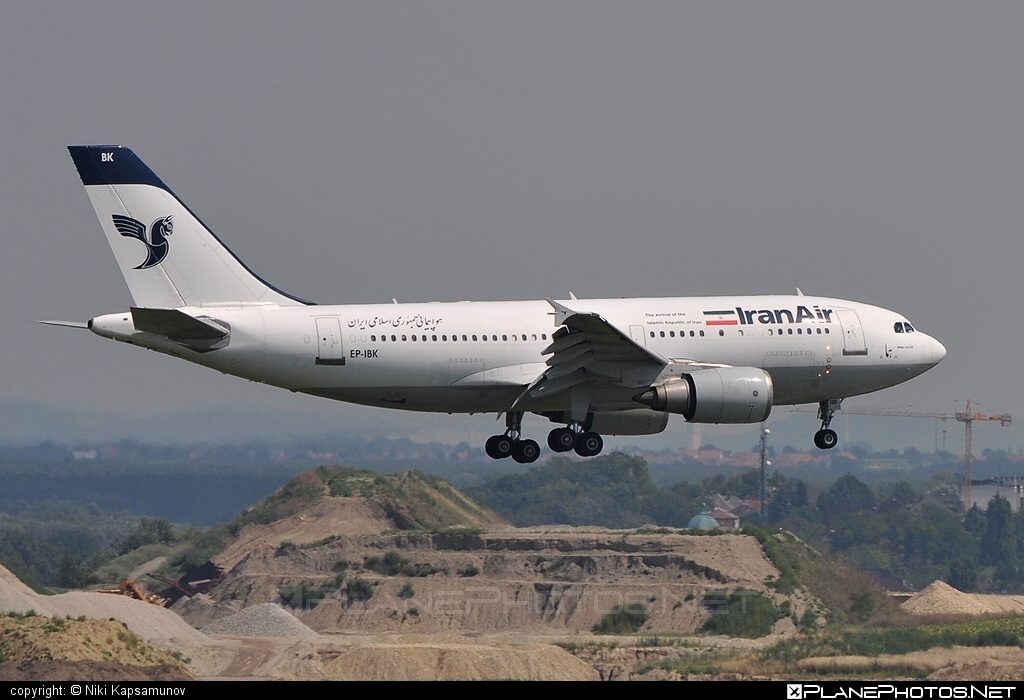 Airbus A310-304 - EP-IBK operated by Iran Air #a310 #airbus