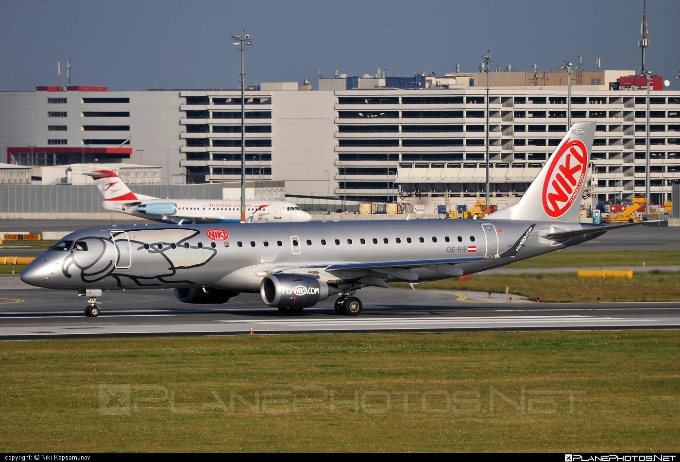 Embraer E190LR (ERJ-190-100LR) - OE-IHF operated by Niki #e190 #e190100 #e190100lr #e190lr #embraer #embraer190 #embraer190100lr #embraer190lr #flyniki #niki