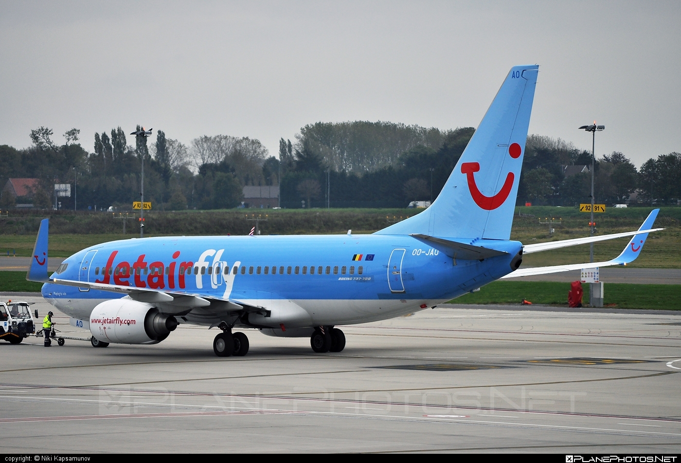 Boeing 737-700 - OO-JAO operated by Jetairfly #b737 #b737nextgen #b737ng #boeing #boeing737 #jetairfly