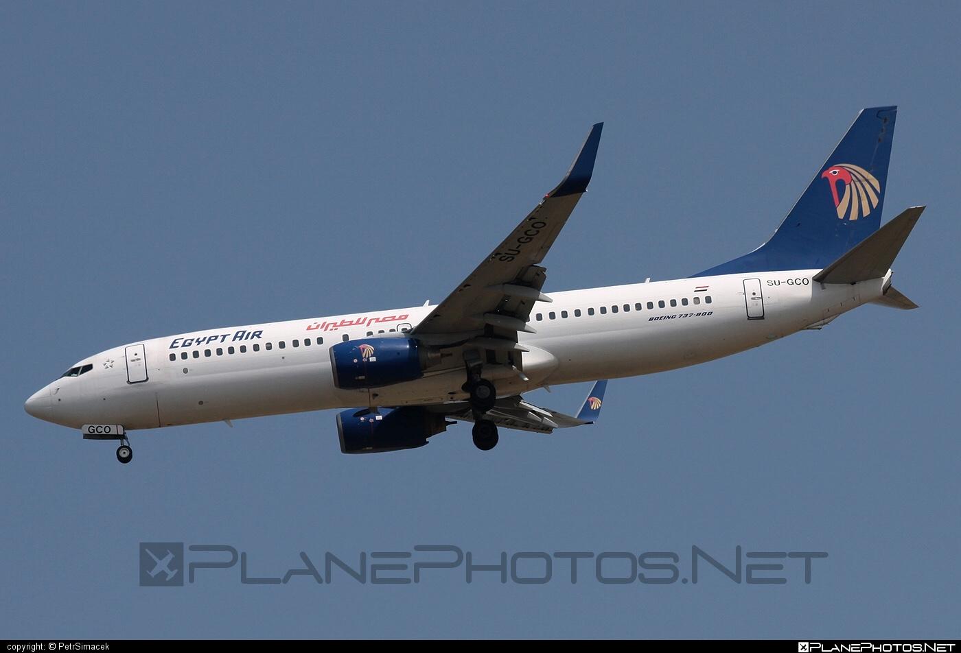Boeing 737-800 - SU-GCO operated by EgyptAir #b737 #b737nextgen #b737ng #boeing #boeing737