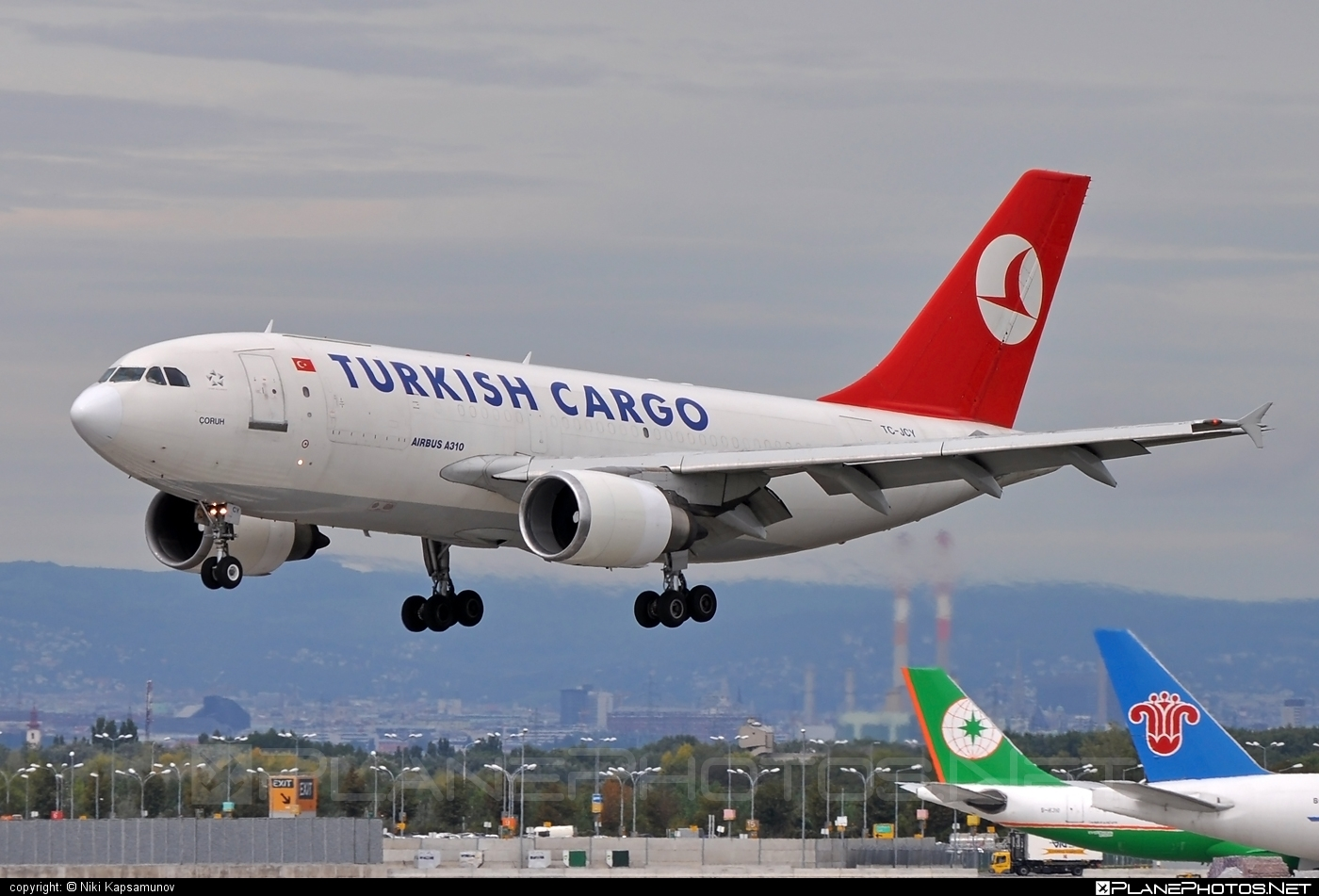 Turkish Airlines Cargo Airbus A310-304F - TC-JCY #a310 #airbus #turkishairlinescargo