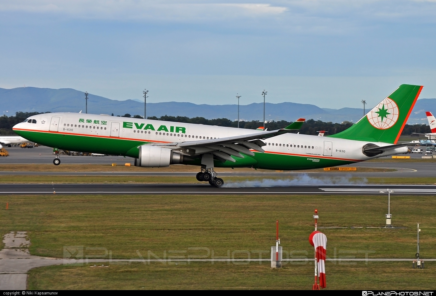 Airbus A330-203 - B-16310 operated by EVA Air #a330 #a330family #airbus #airbus330