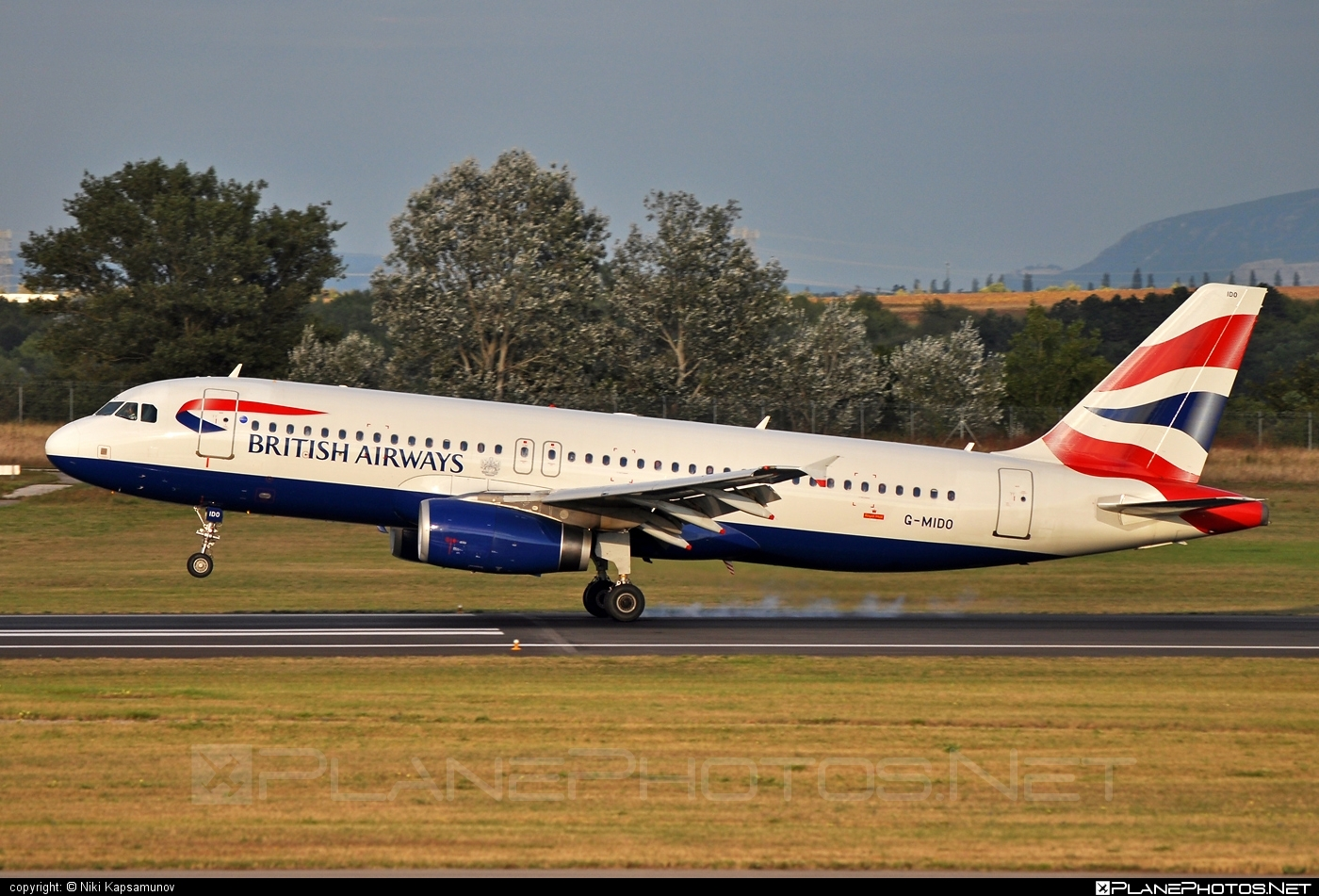 Airbus A320-232 - G-MIDO operated by British Airways #a320 #a320family #airbus #airbus320 #britishairways