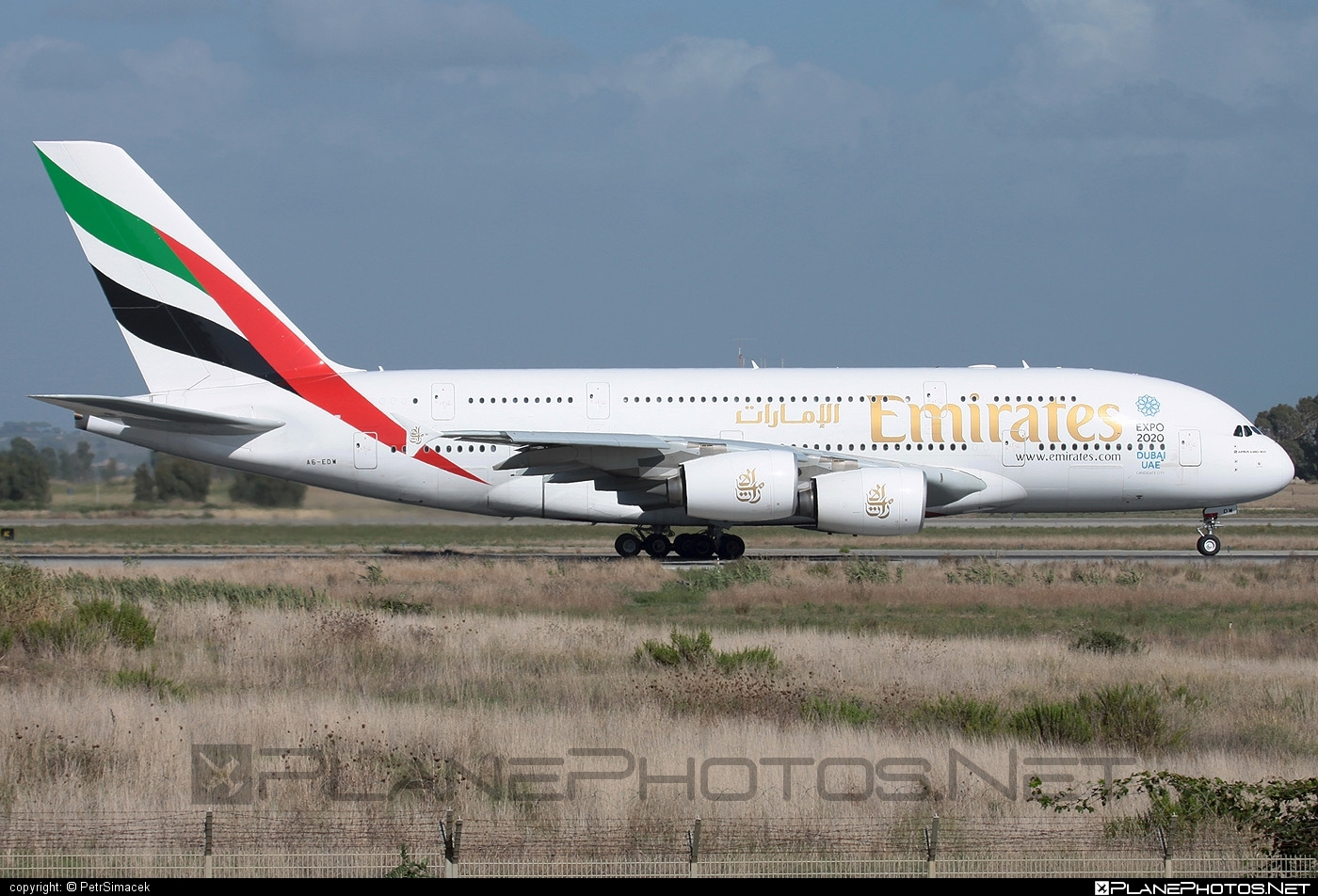Airbus A380-861 - A6-EDW operated by Emirates #a380 #a380family #airbus #airbus380 #emirates