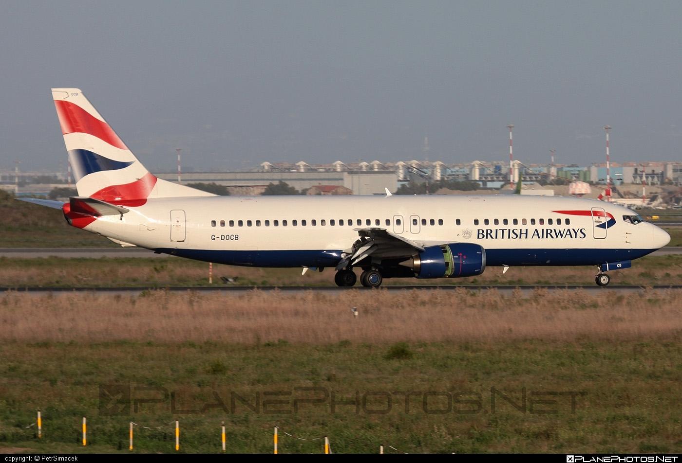Boeing 737-400 - G-DOCB operated by British Airways #b737 #boeing #boeing737 #britishairways