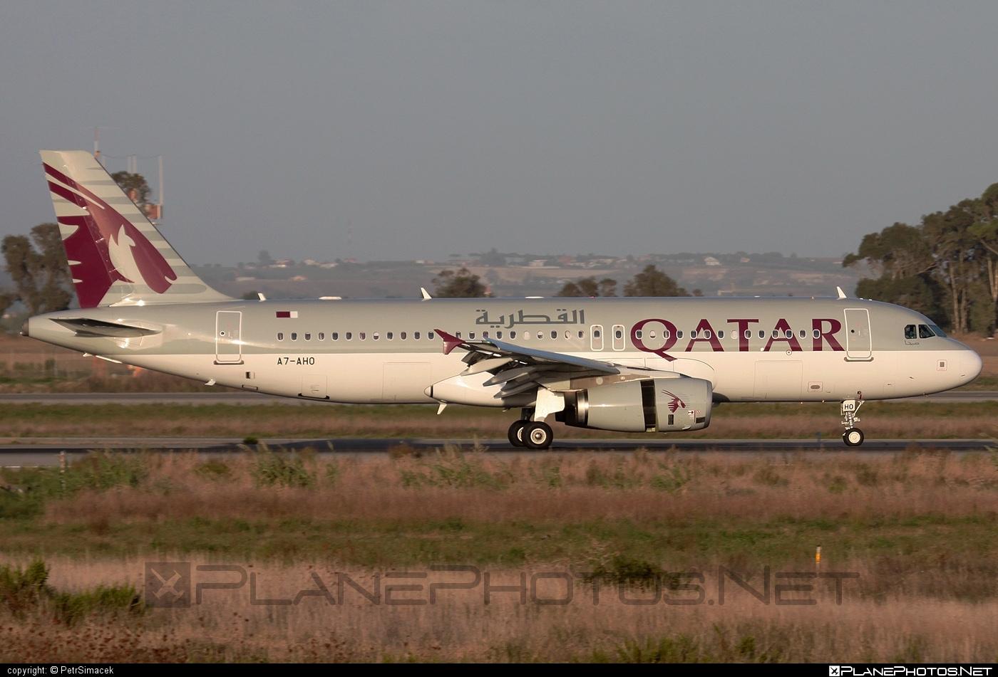 Airbus A320-232 - A7-AHO operated by Qatar Airways #a320 #a320family #airbus #airbus320 #qatarairways