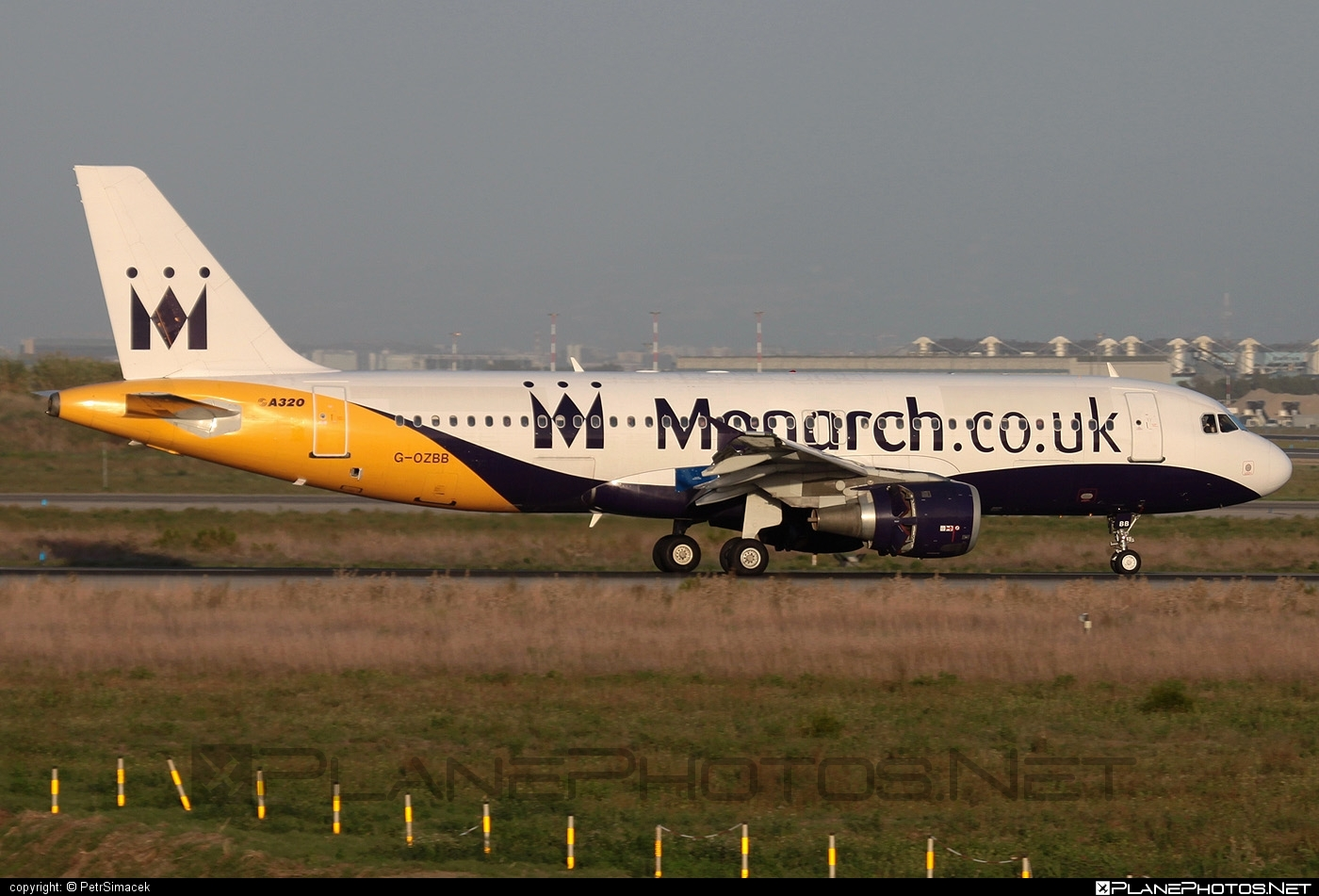 Airbus A320-212 - G-OZBB operated by Monarch Airlines #a320 #a320family #airbus #airbus320