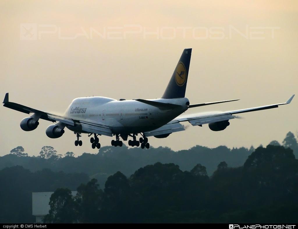 Boeing 747-400ER - D-ABVX operated by Lufthansa #b747 #boeing #boeing747 #jumbo #lufthansa