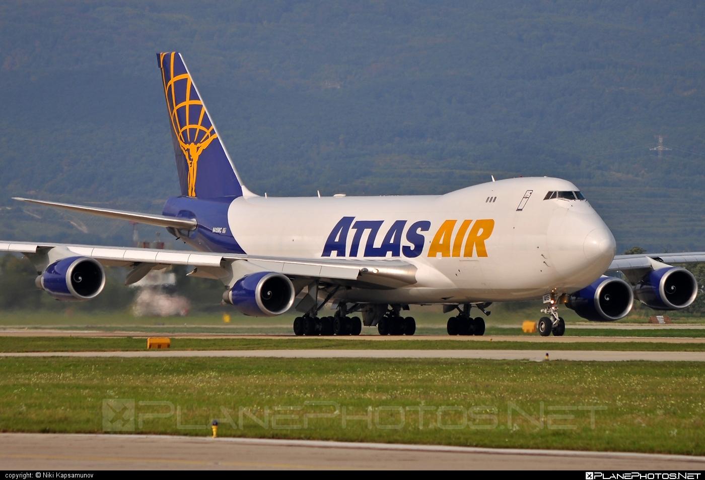 Boeing 747-400F - N415MC operated by Atlas Air #b747 #boeing #boeing747 #jumbo