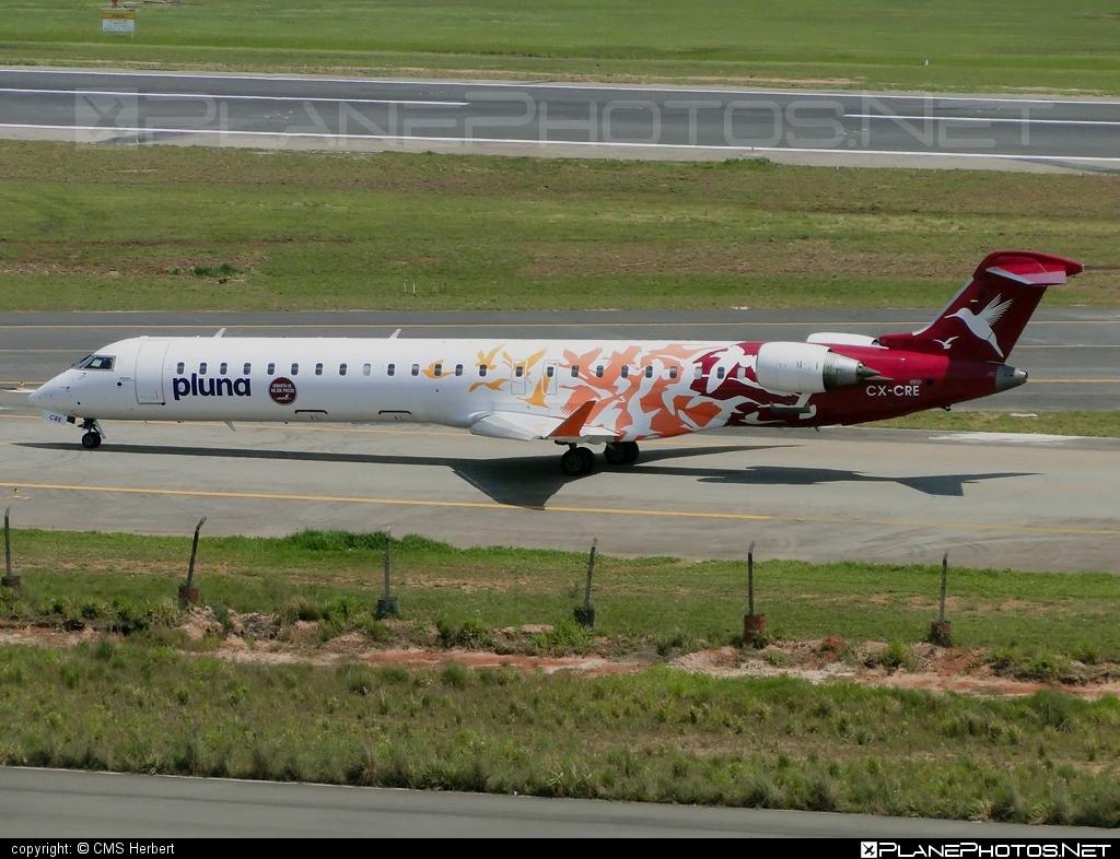 PLUNA Bombardier CRJ900 - CX-CRE #bombardier #crj900