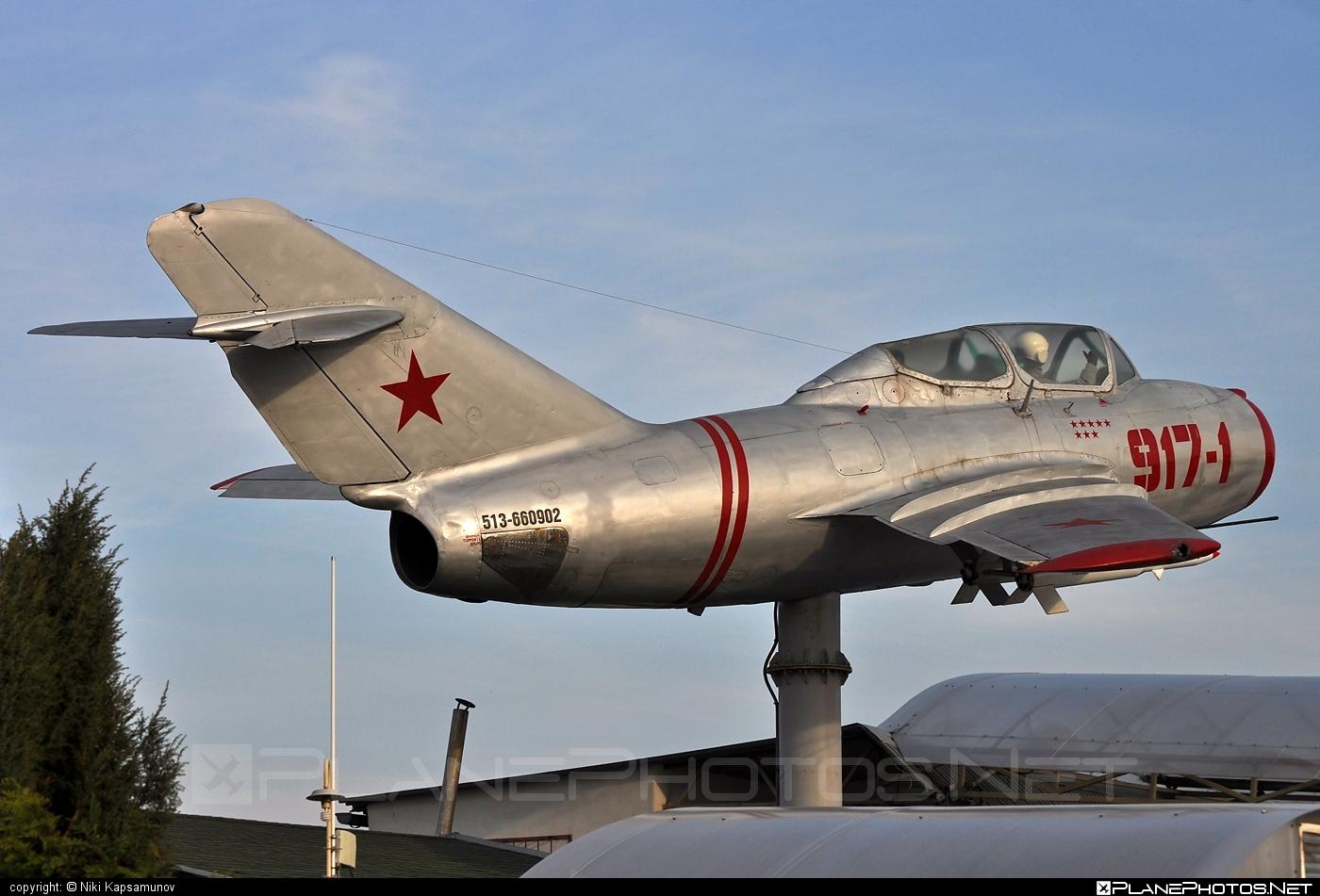 Mikoyan-Gurevich MiG-15UTI - Unknown registration operated by Unknown #mig #mig15 #mig15uti #mikoyangurevich