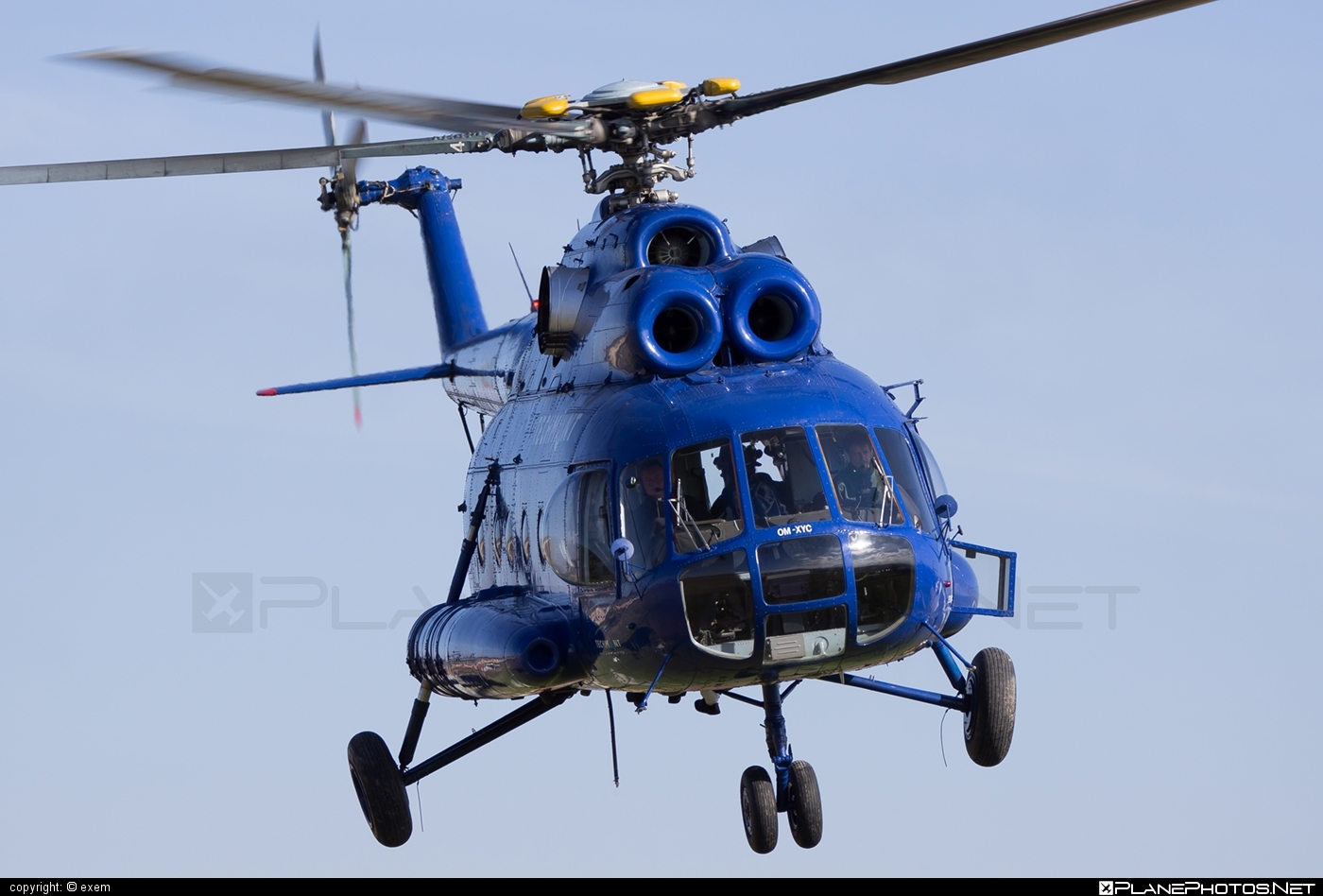 TECH-MONT Helicopter company Mil Mi-8T - OM-XYC #mil #milhelicopters